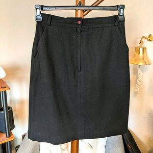 Vintage Album by Kenzo Wool Mini Skirt